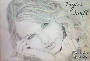 Taylor Swift - Drawing by BeatrizLoveMyJesus