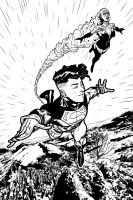 Project DO:REDO Superboy and the Ravers 15p01 by joshhood