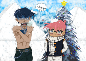 Christmas vacation+Fairy Tail crossover [C] - DC by UsagiTail