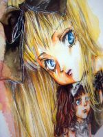 Merry watercolor, Good Child by Lady-Vudu-doll
