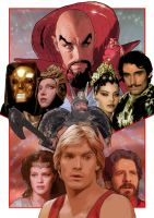 FLASH GORDON by westleyjsmith