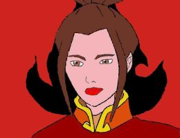 Princess Azula by eileenmeierrocks