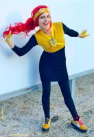 Fem! Jack Spicer cosplay III. by pearlANDblood