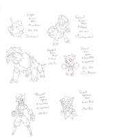 Fakemon Page 2 by Ivyon