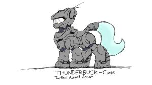 THUNDERBUCK-Class Tactical Assault Armor by DoomSp0rk