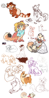 September 2011 doodle dump by Berripunch