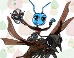 Bug's Life Flik as Ant Man (Crossover pt.11) by peonyroyale