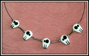 ..::Skull Necklace::.. by Brina83