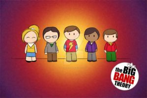 The Big Bang Theory by jazzyutopia