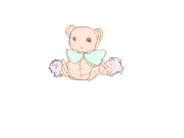 the lonely teddy bear by ayazahra