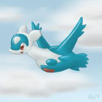 Latios doodle test by Virtual-Blue
