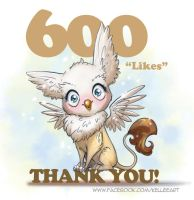 Facebook 600 by KelleeArt