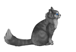 jayfeather side profile collab thingie by ask-jay-feather