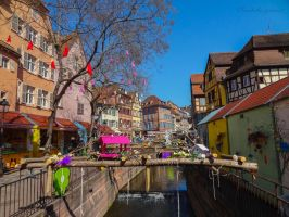 Charming Easter Market - Colmar, France by Cloudwhisperer67