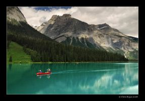 emerald lake by strangelight