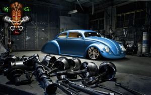 VW Fusca - CUSTOM by irisantonio