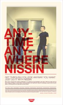 Anytime Anywhere Nissin 3 by LouieHitman