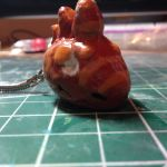bloodspakedcutie keychain by xAquaMelody
