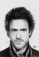 Robert Downey jr. by bogdancalciu