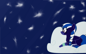 Moon-Light looking at the Moon Light: Request by nyan-cat-luver2000