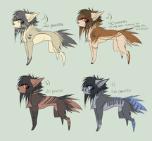 adoptables, CLOSED. by SusuSmiles