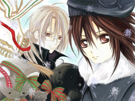 Vampire Knight - Xmas by craziepenguins89