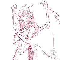Gargoyles Request : Thorn by coda-leia