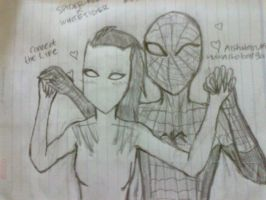 Spider-Man X White Tiger (Ultimate Spider-Man) by Yeoja-CherryBlossoms