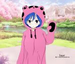Juvia in a Frosch jumper (colouring) by FoodAssassinClive