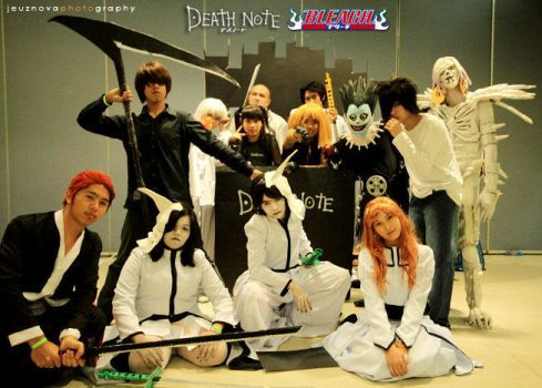 Death Note Meets Bleach by limxuxu09