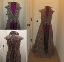 Overcoat for steampunk/ren faire by Nerds-and-Corsets
