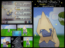 Shiny Manectric Giveaway - CLOSED by mute-owl