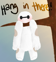 .: Hang in there, Baymax! :. by Samagirl