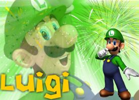 Luigi Wallpaper by kcjedi89