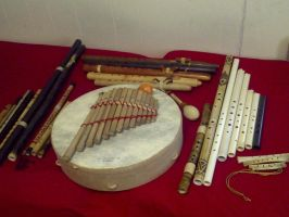My Flute Collection by superwaffle350
