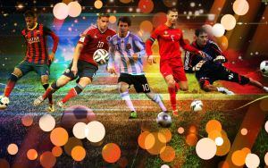 Wallpaper football by ElodieTheFox051400