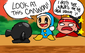 LOOK AT THIS CANNON! by bunnybear00