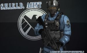 S.H.I.E.L.D. Agent by ChristopherJRedfield
