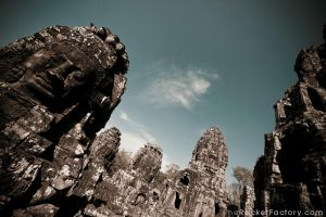 Angkor Wat Temples by frankrizzo