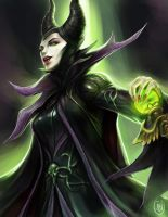 Maleficent by jaeon009