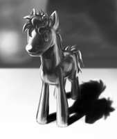 Iron pony. by Cannibalus