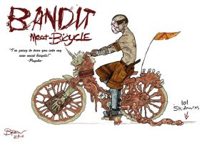 Borderlands 2 Meat Bicycle by BR3AR