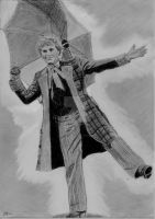 Doctor Who - Colin Baker by Zizzorhands