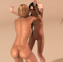 Dirty Catfight 01 by cptn0bvious