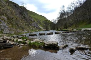Dovedale Stepping Stones by Lady---Vengeance
