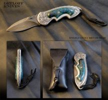 The Blue Wave by DetloffKnives