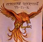 Phoenix Tat Drawing by Vanya229124