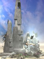 The Obelisks by Lokai2000