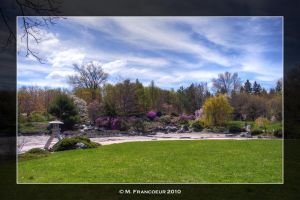 Japanese Garden HDR by sicmentale