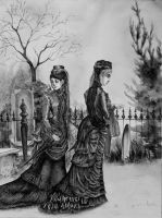 Mourning Ladies - AP Art Concentration by GoatQueen